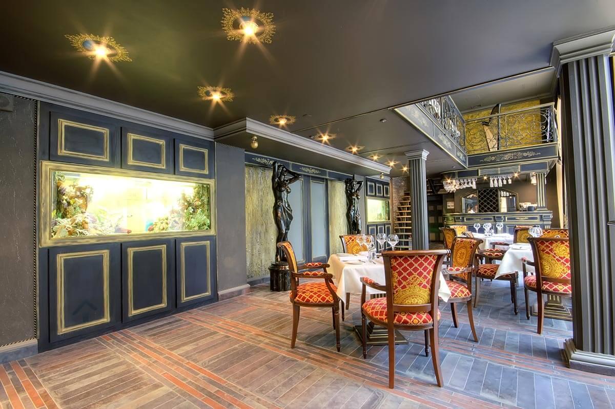 Design et peinture de restaurant