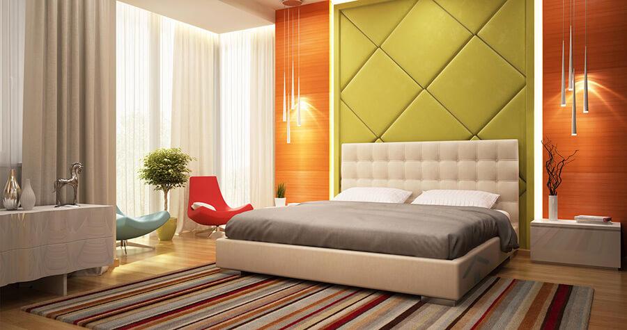 peintre pour chambre avec couleur