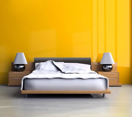 peintre pour chambre jaune