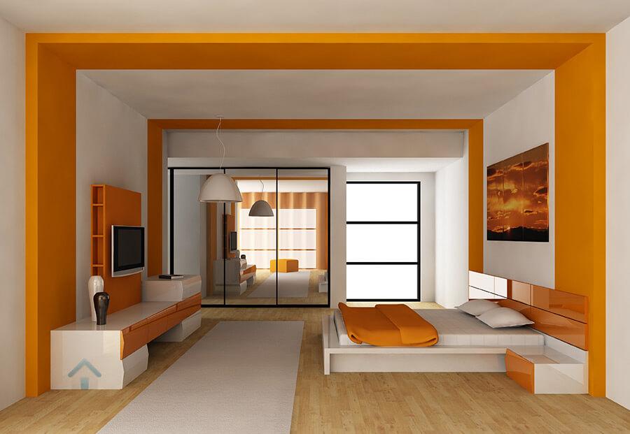 peintre pour chambre moderne