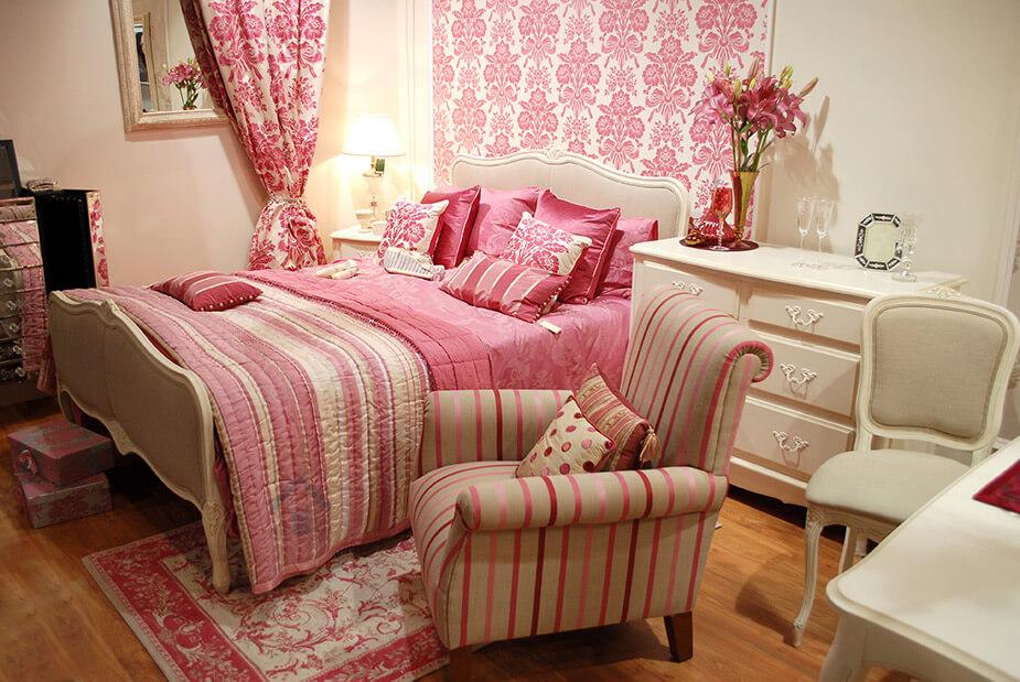 peintre pour chambre rose